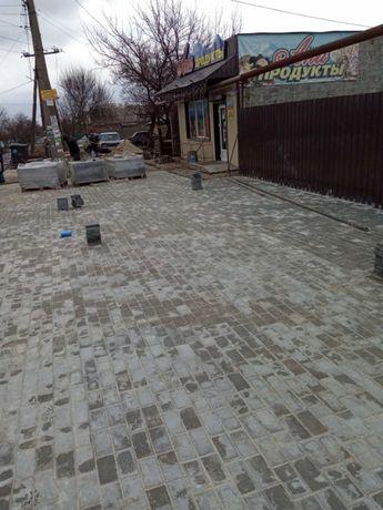 Укладка тротуарной плитки (ФЭМ) Опыт работы.Гарантия