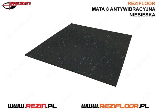 Mata antywbiracyjna 600x600 mm pod pralkę, basen, urządzenie / REZIN