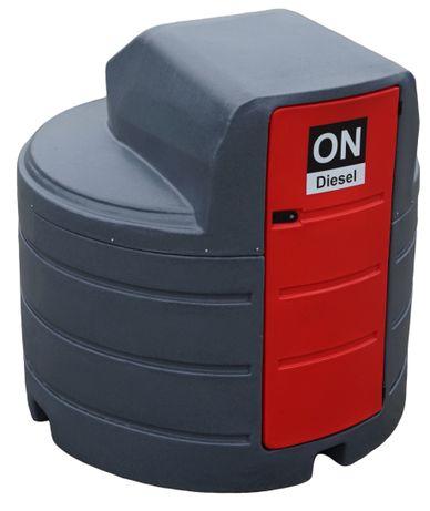 Zbiornik 2500L dwupłaszczowy na paliwo rope olej napędowy KREDYT
