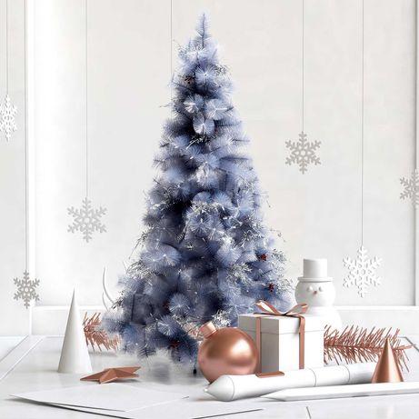 Árvore de natal 150cm Decoração Natal c/ Peças de Decoração 222 Ramos