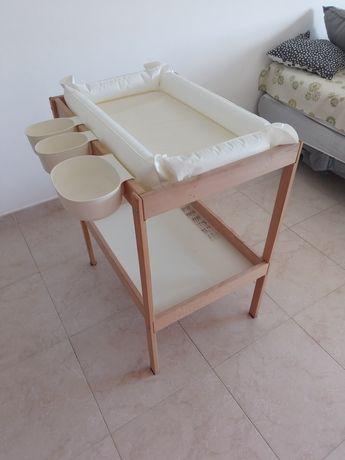 Trocador completo para bebé