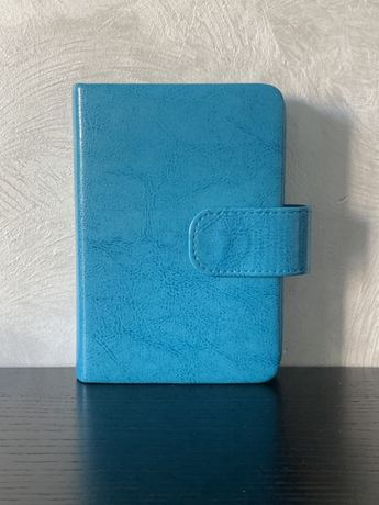 Холдер для паспортов и карточек бирюзового цвета
