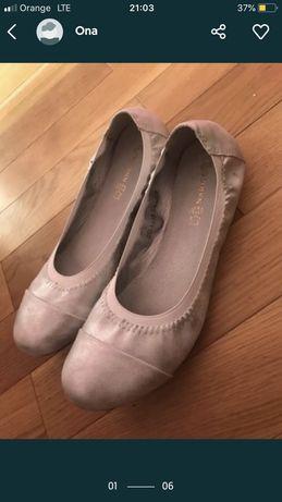 Baletki balerinki damskie rozm 38 wysylka olx