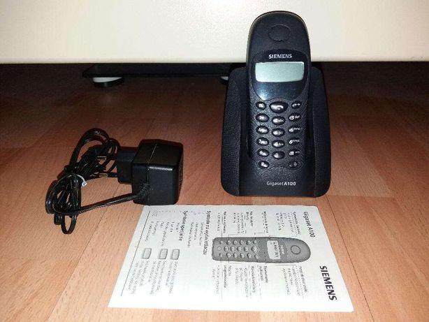 Telefon bezprzewodowy SIEMENS