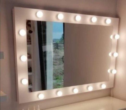 Lustro Hollywood kosmetyczne makijaż