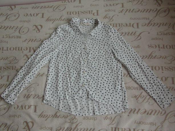 H&M bluzka koszulowa 146 / 10-11 lat