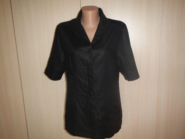 Льняная блуза жакет globus р.50(42)