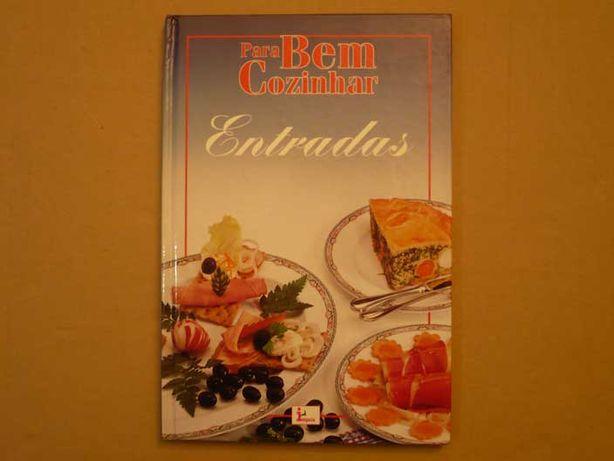 Livros de culinária sobre entradas