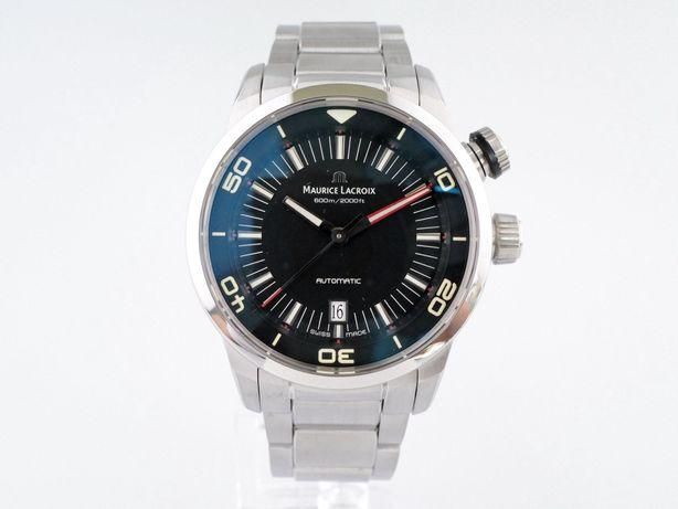 Maurice Lacroix Pontos S Diver Black Dial 43 мм