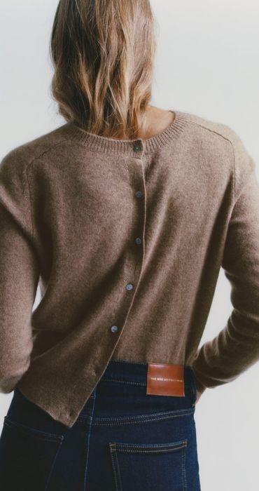 Zara kardigan sweter kaszmirowy L Polkowice - image 1