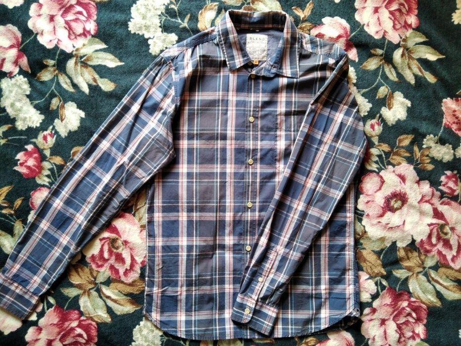 Хлопковая, почти новая рубашка Blend Киев - изображение 1
