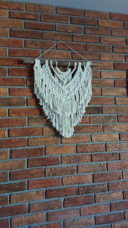 Makrama dekoracja ścienna DUŻA, rękodzieło, handmade