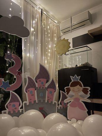 Фотозона замок принцессы