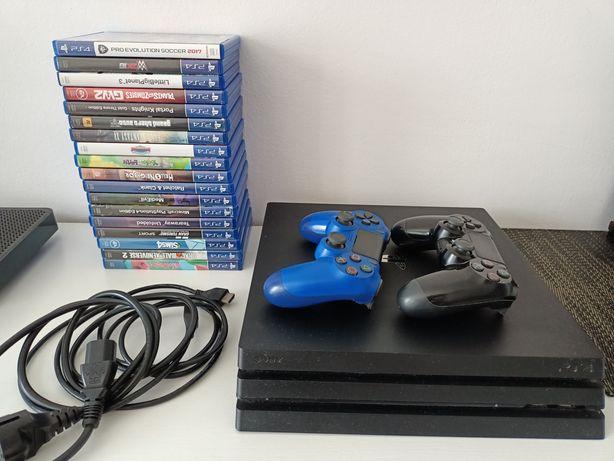 Konsola PlayStation PS4 pro +18gier