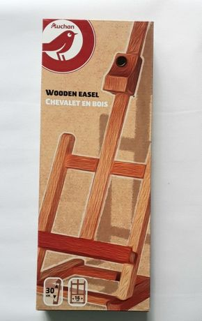 Деревянный настольный мольберт для художников дерев'яний мольберт