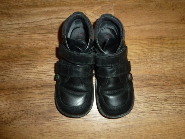 Kickers Кожаные ботинки Кикерс , р 30 стелька 19 см