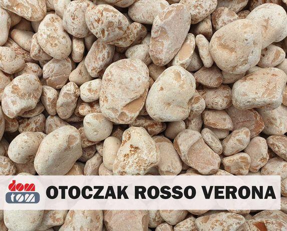 Otoczak Rosso Verona (Kamień Ozdobny Okrągły, Ogród, Dekoracja)