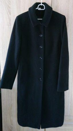 Czarny płaszcz ( wełna ,kaszmir )