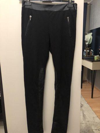 Czarne legginsy ZARA