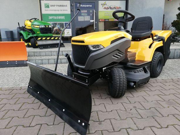 Nowy traktor z pługiem śnieżnym 2 cylindry 20KM Stiga 2398HW 98cm gw.