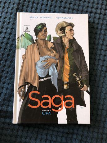 Comic SAGA volume 1 - NOVO