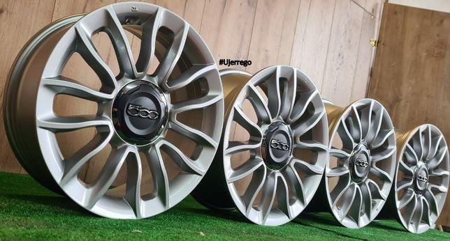 NOWE Oryginalne FELGI Aluminiowe do FIAT 500 16x5x98