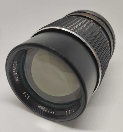 Objectiva Sears 135mm f/2.8 MC PK