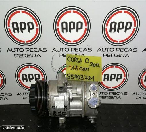 Compressor ar condicionado Opel Corsa D 2012 1.3 CDTI 55703721.