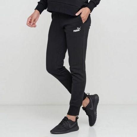 Штаны Puma Essentials спортивные брюки на флисе