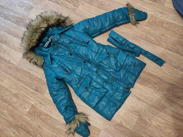 куртка пальто зима парка зимнее X-woyz