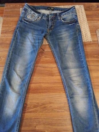 Spodnie Armani Jeans z USA
