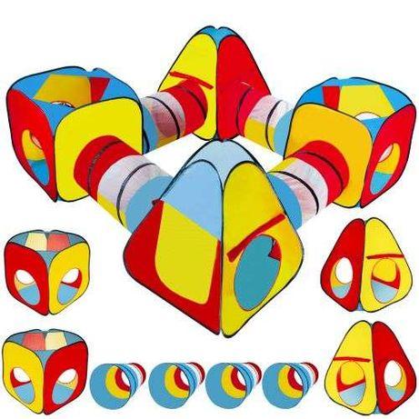 Детская игровая палатка + тоннель 8в1 дитячий комплекс + сумка