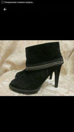Ботинки, Ботильоны стелька 23 см, 35 размер