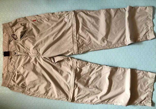 MAMMUT spodnie trekkingowe 2w1 pas 100 cm