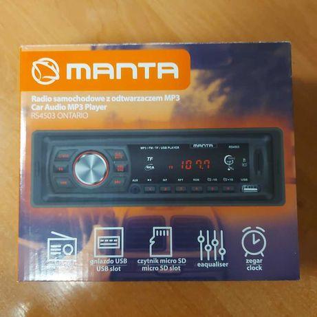 Radioodtwarzacz akcesoryjny Manta RS4503 1-DIN 4 x 10 W