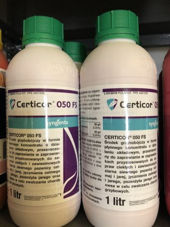 Zaprawa zbożowa CERTICOR 050 FS 1l na 1000kg