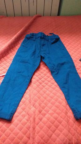 Spodnie eleganckie chinosy rozmiar 92