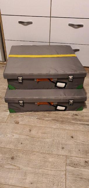 Pojemniki na pościel/do przechowywania (2 szt)