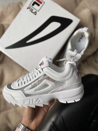 Sneakersy Fila disruptor clear rozmiar 39