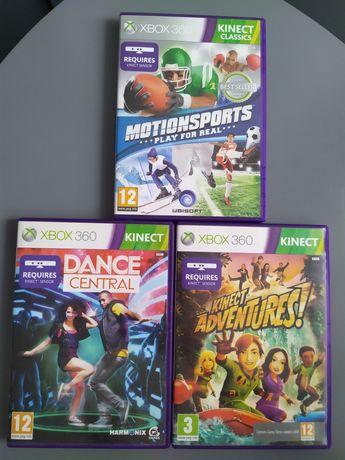 Kolekcja gier na Kinect xbox360