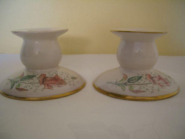 stare świecznik porcelana