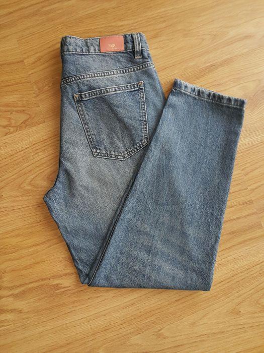 Spodnie jeansowe damskie Zara rozm. S Łazowa - image 1