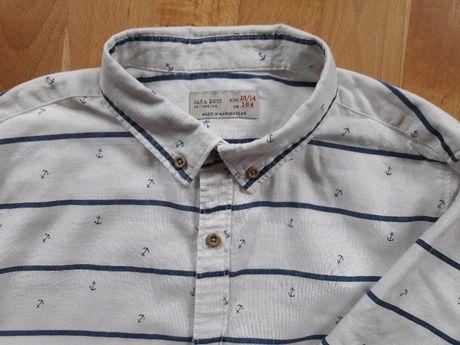 Продам рубашку короткий рукав Zara, 13-14 лет