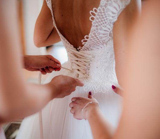 suknia ślubna (dla zdecydowanych osób cena do sporej negocjacji)