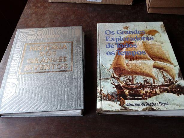 Diversos livros antigos Seleções do Reader's Digest e outros