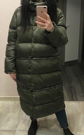 Куртка пухова 3в1 нова