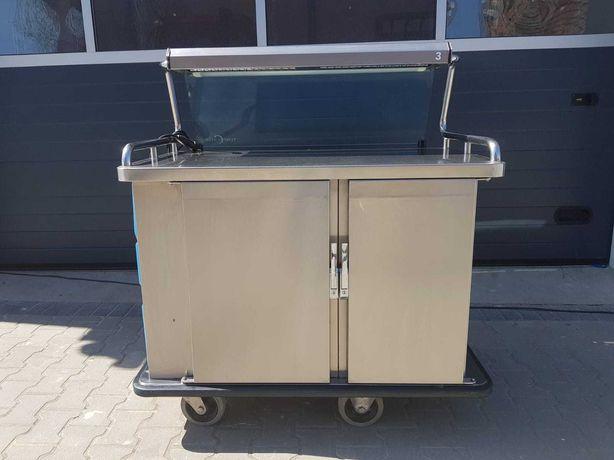 Wózek bufetowy chłodniczy grzewczy bufet temp-rite