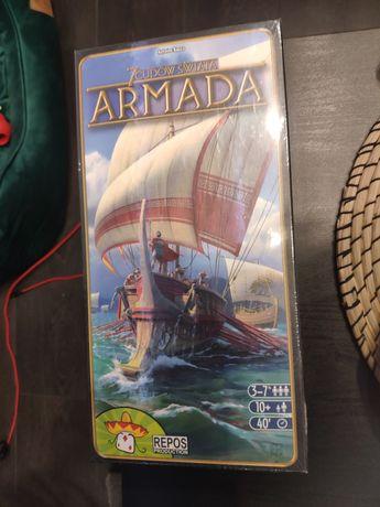 7 cudów świata Armada dodatek do gry planszowej