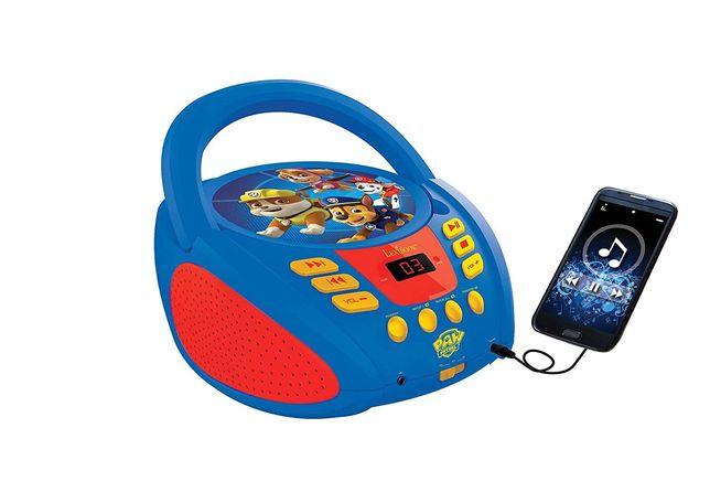 Boombox PAW PSI PATROL odtwarzacz CD AUX pieski