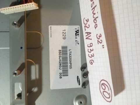 TOSHIBA 32 cale, 32AV933G